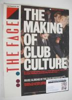 <!--1983-02-->The Face magazine - The Making Of Club Culture cover (February 1983 - Issue 34)