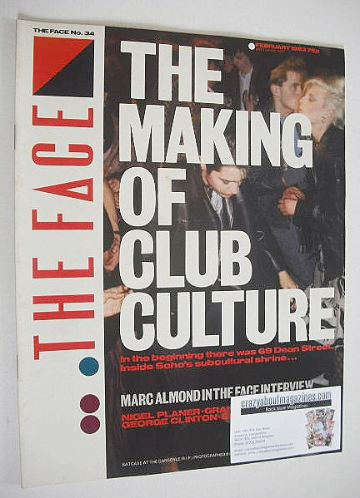 <!--1983-02-->The Face magazine - The Making Of Club Culture cover (Februar