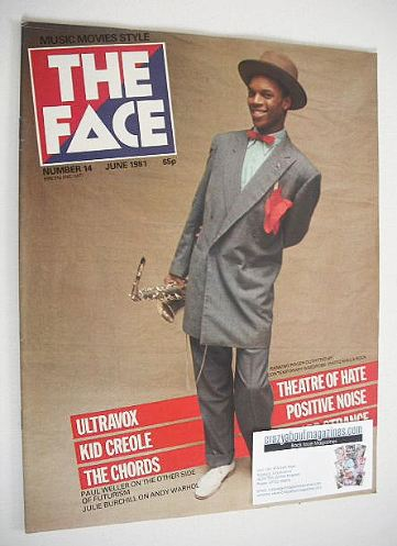 <!--1981-06-->The Face magazine - Ranking Roger cover (June 1981 - Issue 14
