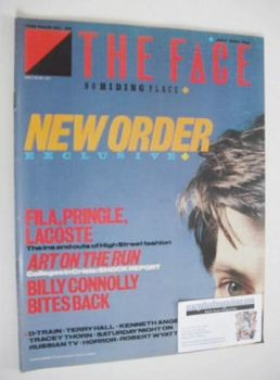 The Face magazine - New Order cover (July 1983 - Issue 39)