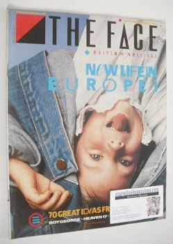 The Face magazine - New Life In Europe cover (November 1983 - Issue 43)