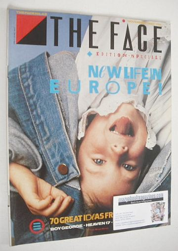 <!--1983-11-->The Face magazine - New Life In Europe cover (November 1983 -