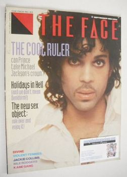 The Face magazine - Prince cover (September 1984 - Issue 53)