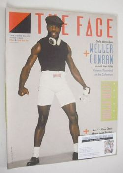 The Face magazine - Clinton McKenzie cover (June 1985 - Issue 62)