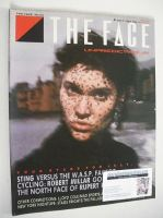 <!--1985-07-->The Face magazine - Peggy O'Connor cover (July 1985 - Issue 63)