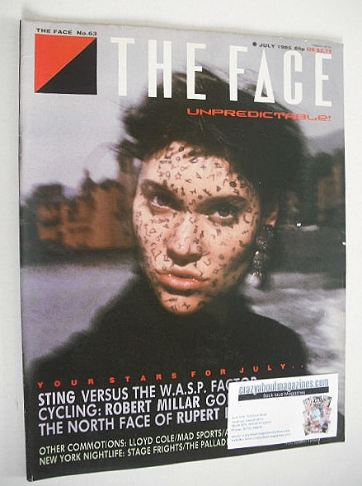 <!--1985-07-->The Face magazine - Peggy O'Connor cover (July 1985 - Issue 6