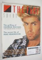<!--1985-08-->The Face magazine - George Michael cover (August 1985 - No. 64)
