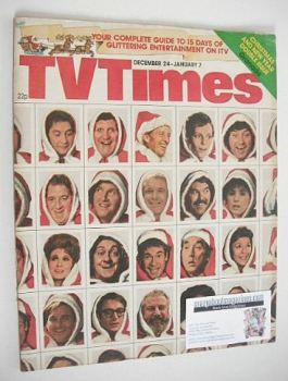 TV Times magazine - Christmas issue (24 December 1976 - 7 January 1977)