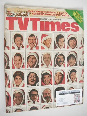 <!--1976-12-24-->TV Times magazine - Christmas issue (24 December 1976 - 7