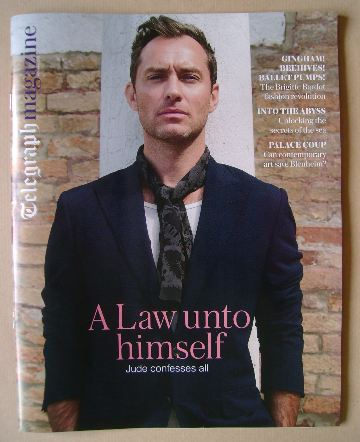 <!--2016-10-08-->The Daily Telegraph magazine - Jude Law cover (8 October 2