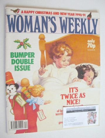 <!--1990-12-25-->Woman's Weekly magazine (25 December 1990 - Christmas/New