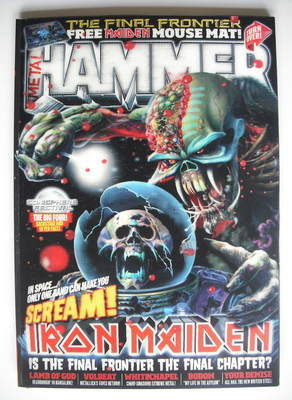 <!--2010-08-->Metal Hammer magazine - Iron Maiden cover (Summer 2010)