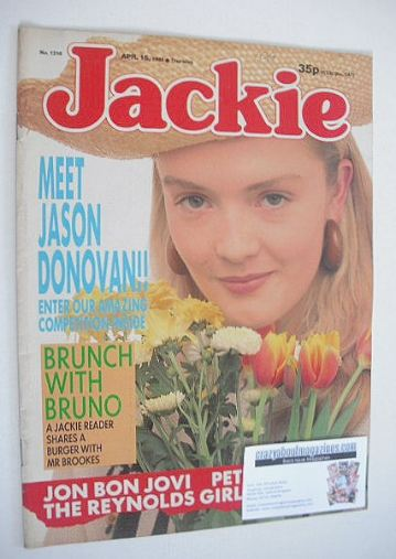 <!--1989-04-15-->Jackie magazine - 15 April 1989 (Issue 1319)
