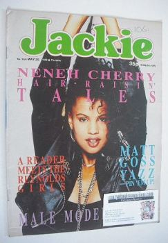 Jackie magazine - 20 May 1989 (Issue 1324 - Neneh Cherry cover)