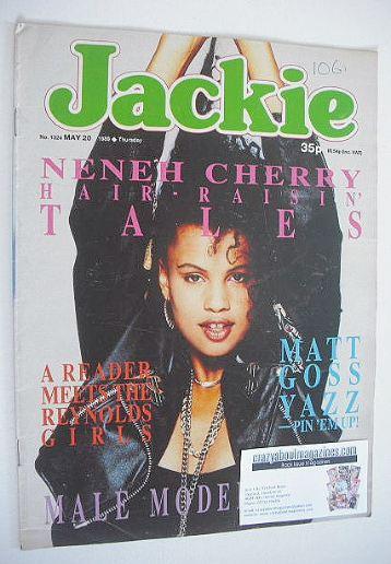 <!--1989-05-20-->Jackie magazine - 20 May 1989 (Issue 1324 - Neneh Cherry c