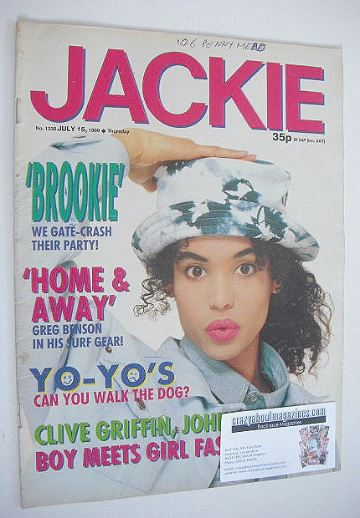 <!--1989-07-15-->Jackie magazine - 15 July 1989 (Issue 1332)