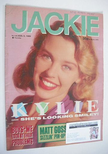 <!--1989-08-05-->Jackie magazine - 5 August 1989 (Issue 1335 - Kylie Minogu