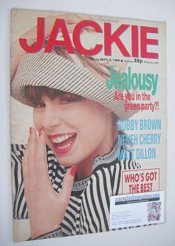 <!--1989-09-09-->Jackie magazine - 9 September 1989 (Issue 1340)