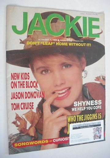 <!--1989-10-07-->Jackie magazine - 7 October 1989 (Issue 1344)