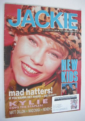 <!--1989-12-30-->Jackie magazine - 30 December 1989 (Issue 1356)