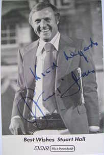Stuart Hall autograph (hand-signed photograph)