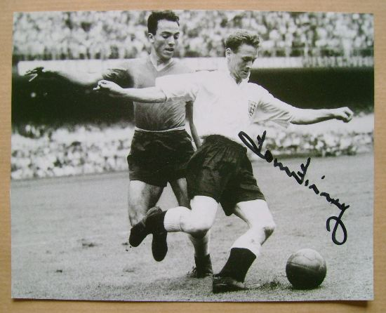 Tom Finney autograph
