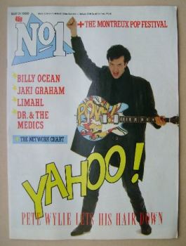 No 1 Magazine - Pete Wylie cover (31 May 1986)