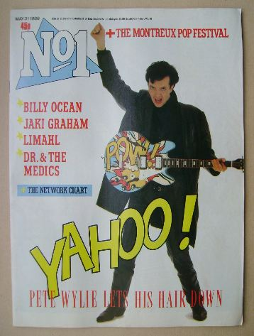 <!--1986-05-31-->No 1 Magazine - Pete Wylie cover (31 May 1986)