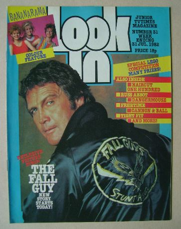 <!--1982-07-31-->Look In magazine - Lee Majors cover (31 July 1982)