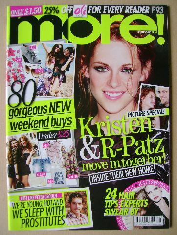 <!--2010-08-30-->More magazine - Kristen Stewart cover (30 August 2010)
