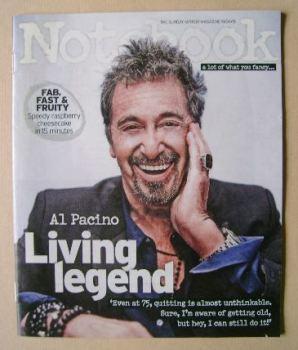 Notebook magazine - Al Pacino cover (19 April 2015)