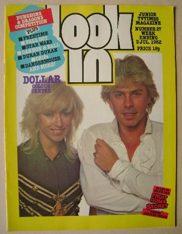 <!--1982-07-03-->Look In magazine - Thereza Bazar and David Van Day cover (