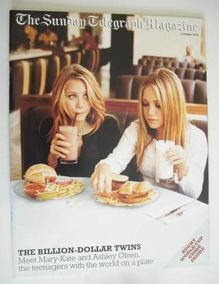 The Sunday Telegraph magazine - Mary-Kate and Ashley Olsen (5 October 2003)