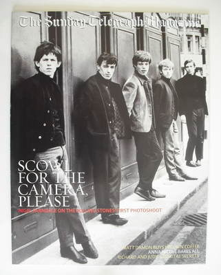 The Sunday Telegraph magazine - The Rolling Stones cover (18 August 2002)