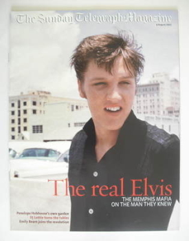 The Sunday Telegraph magazine - Elvis Presley cover (4 August 2002)
