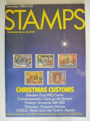 Stamps magazine - December 1986