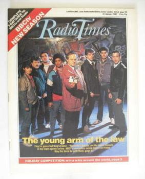 Radio Times magazine - Rockliffe's Babies cover (3-9 January 1987)