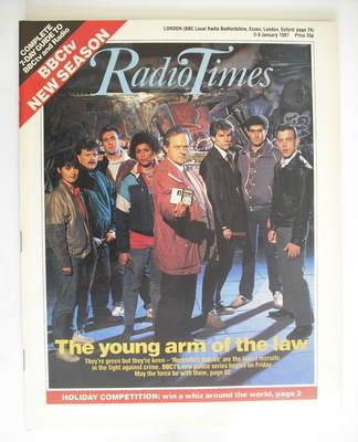 <!--1987-01-03-->Radio Times magazine - Rockliffe's Babies cover (3-9 Janua