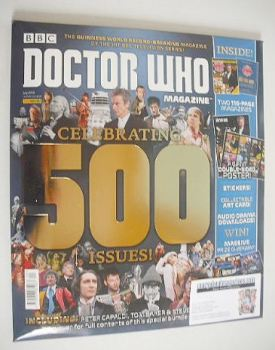 Doctor Who magazine - Celebrating 500 Issues Souvenir Edition (Summer 2016)