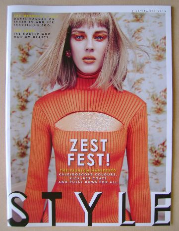 <!--2015-09-06-->Style magazine - 6 September 2015