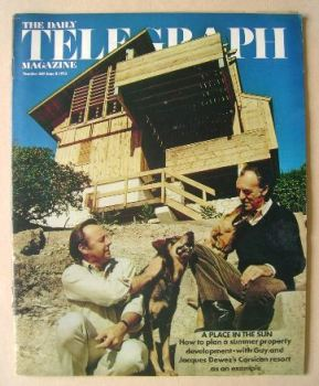 The Daily Telegraph magazine - Guy and Jacques Dewez cover (8 June 1973)