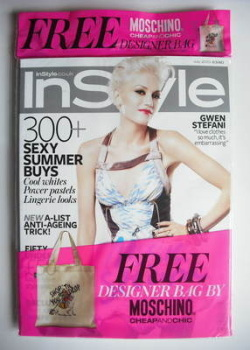 British InStyle magazine - July 2010 - Gwen Stefani cover