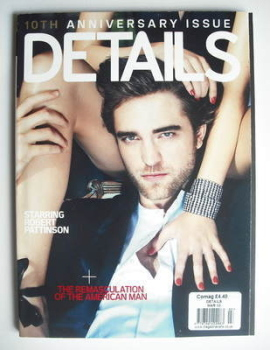 Details magazine - March 2010 - Robert Pattinson cover