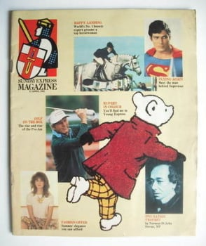 Sunday Express magazine - 12 April 1981