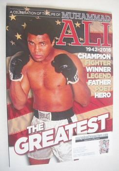 A Celebration Of The Life of Muhammad Ali magazine (2016)