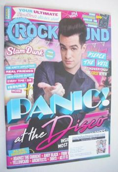 Rock Sound magazine - Panic! At The Disco cover (June 2016)