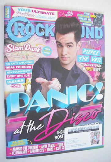 <!--2016-06-->Rock Sound magazine - Panic! At The Disco cover (June 2016)