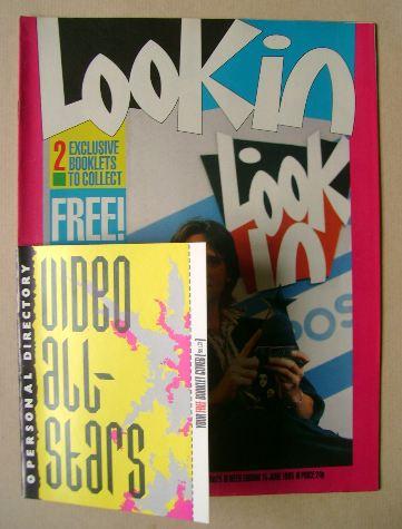 <!--1985-06-15-->Look In magazine - Michael Praed cover (15 June 1985)