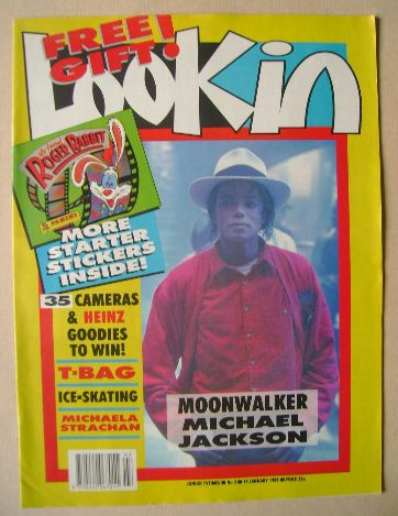 <!--1989-01-14-->Look In magazine - Michael Jackson cover (14 January 1989)