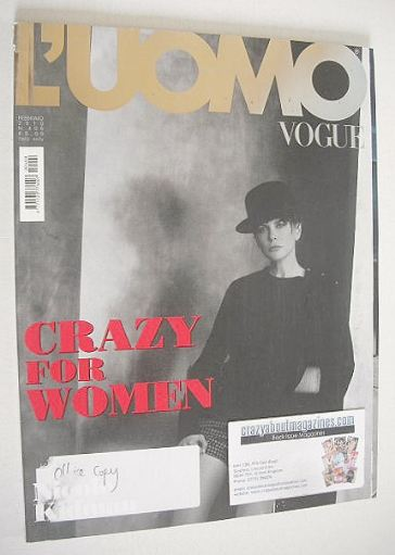 <!--2010-02-->L'Uomo Vogue magazine - February 2010 - Nicole Kidman cover